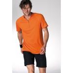 T-shirt uomo con zip