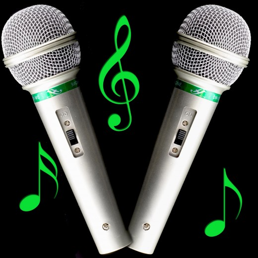 Coppia microfoni dinamici