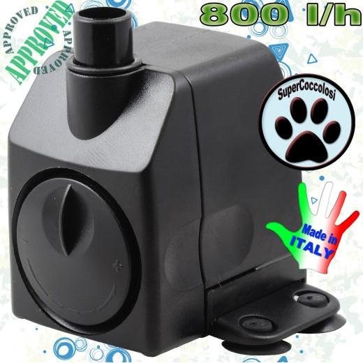 Pompa per acquario 800 l/h