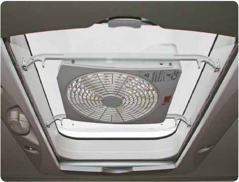 Ventilatore aspiratore elettrico con ventola oblo - Aspiratore bagno senza uscita esterna ...